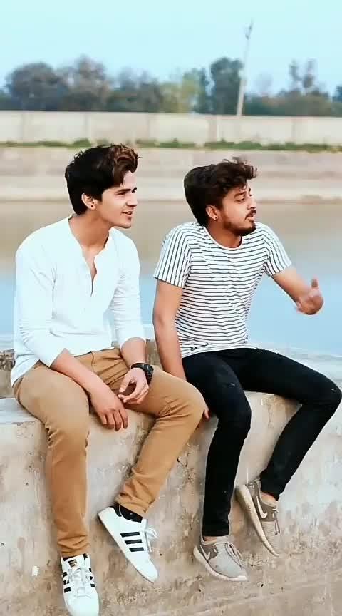 #friends #best-friends #love #bhai #bhai #dosti #sunnykumar1041 #roposo