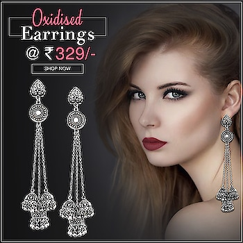 New Arrival 😍 latest Oxidised Earrings collection  Shop now : https://bit.ly/2JnB6cT Or whats app us on 9867662341 #oxidised #oxidisedearrings #jewelmaze #jewelry #fashion #latesttrends #latestfashion