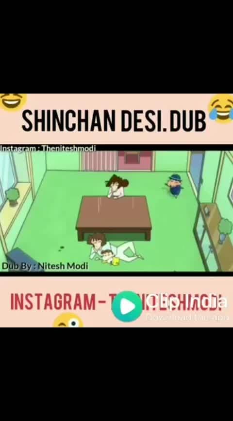 #sinchan #roposo-comedy #hahatv #bikaneri