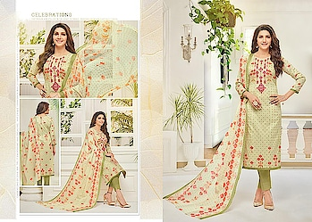 GEORGEOUS PISTA GREEN CAMRIC COTTON STRAIGHT SUIT. Rs.1,280.00 Link For Details:- https://www.nallucollection.com/georgeous-pista-green-camric-cotton-straight-suit/ For Order/Price What-app us (+91) 8097909000 * * * * #salwar #salwarsuits #dress #dresses #longsuits #suitsonline #embroidered #onlinefloralsuit #floral #fashion #style #palazzosuits #shararastylesuits #classy #designer #partywear #partywearsuits #exclusive