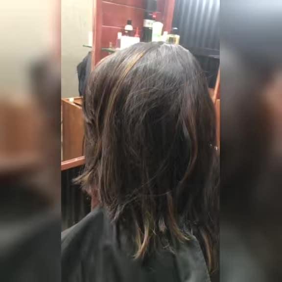 #onesided #hair #indurikarmaharaj