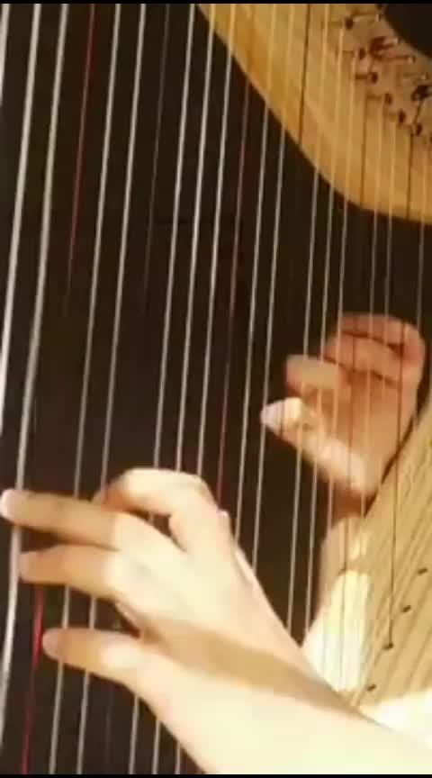 #uchiagehanabi #anime #song covered on homemade harp . . . . #harp #indaingirl #homemade #instrument #chinesesong #indian #music #cover