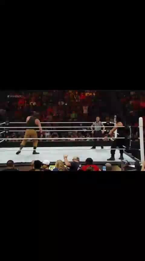 Spear by Roman Reigns(Reigns vs Strowman)