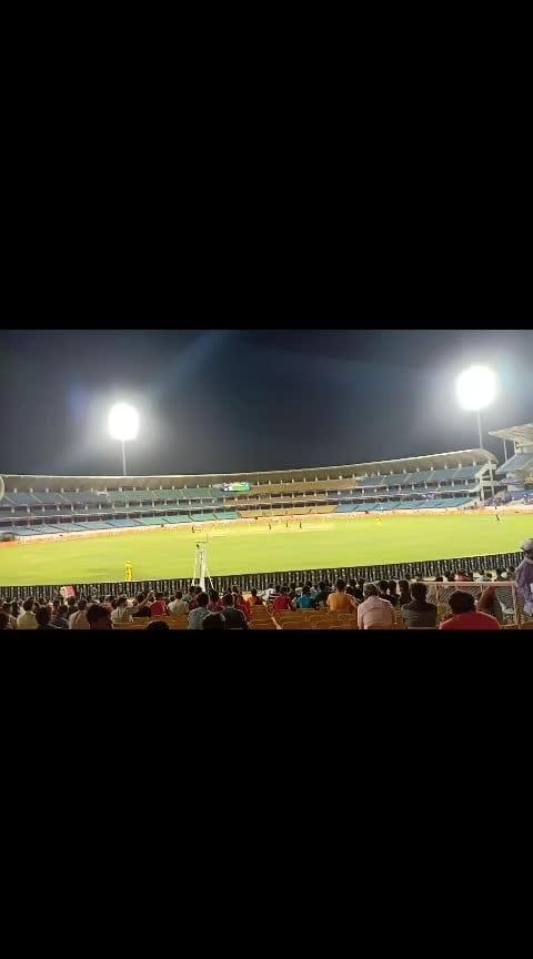 #rajkot #stadium #t20cricket #spl_2019 #rajkot_instagram #saurashtra_premier_league #cricket #match #followme 💕