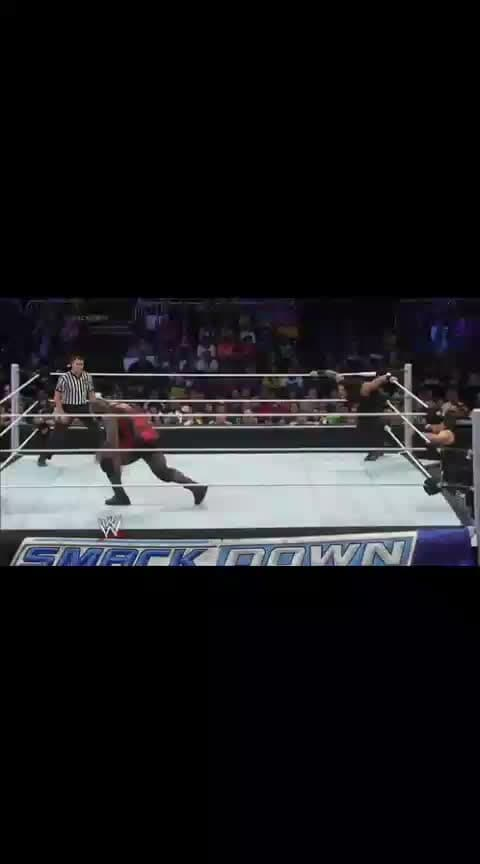 Spear by Roman Reigns (Reigns VS Henry)