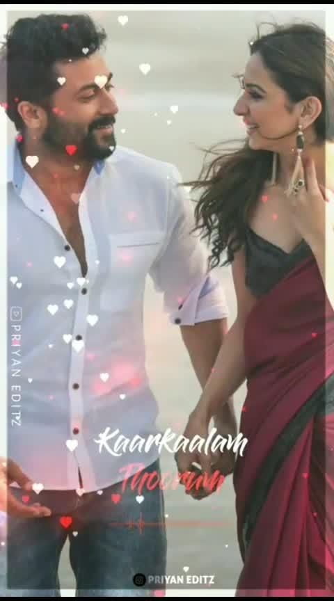 #love #kadhal #ngk #sidsriram #shreyaghoshal #romantic_song #suryasivakumar