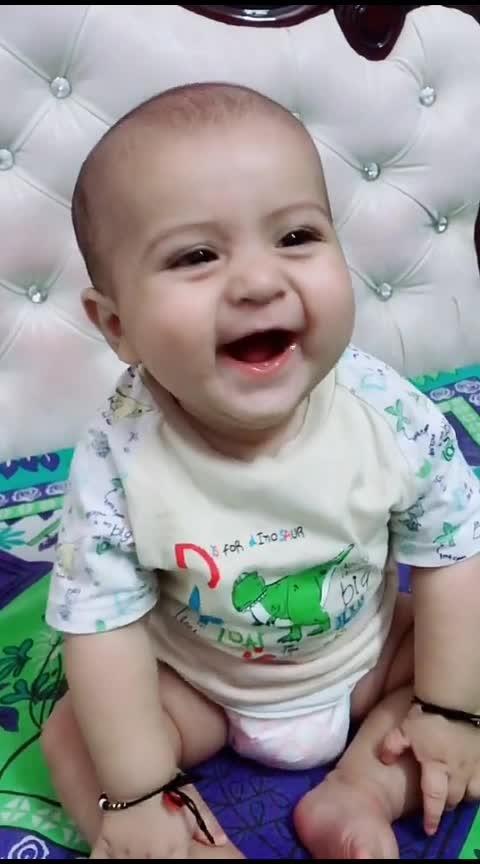 Baby Funny 😂Smiling Video #hahaha #roposo-hahaha #funny #roposo-funny #very-funny #haha-tv #haha-fuuny-video #comedy #roposo-comedy #amazing-video #fantastic