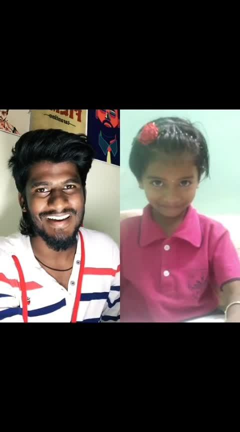this cutie 😍 #nareshkarthik #tamil #roposo-tamil #chennai