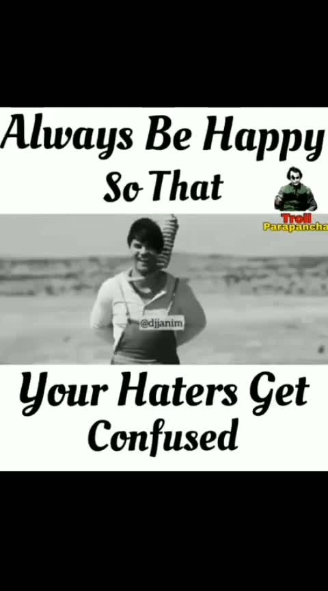 be happy all way....#happieness #happy #fuckmylife #fuckyou