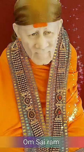 Om Sai ram ji baba bless you and your family Om Sai Ram #sai #shirdisaibaba #shirdi#saibhakta #liveDarshan