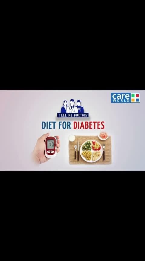 #healthyeating , Diet For Diabetics/Diet to Control Diabetes | Diabetic Diet | Diabetes Diet | Dr. Vijay Panikar