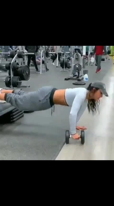 #gymvideo   #roposogabru