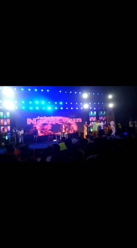 neon run at jabalpur