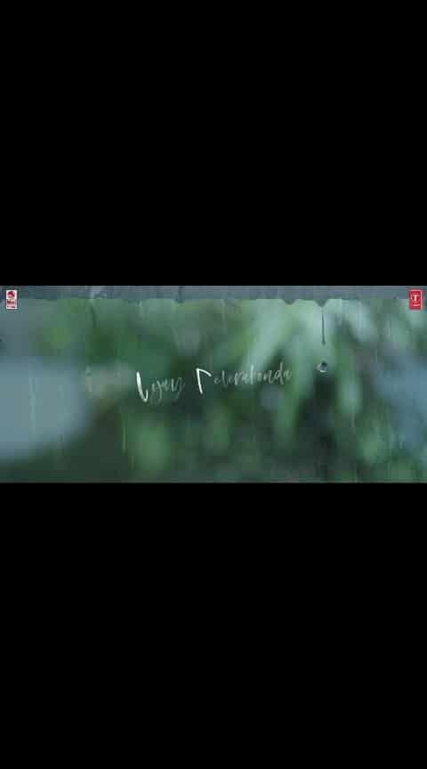 #dearcomradesong...#madhupole_peytha_mazhaye  #vijaydevarakonda_rashmikamandanna #rainlover
