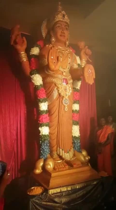 Pasupu tho chesina 51feet 501 kgs vasavi matha girinagar Bangalore 🙏🏻