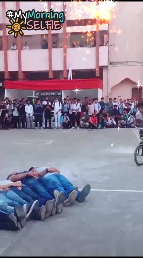 ##schooltime ####bicycle_stunt