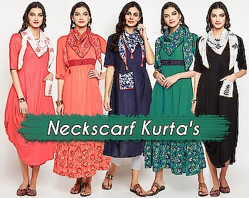 Neckscarf kurta's!  https://bit.ly/2W7kng7  #9rasa #colors #studiorasa #ethnicwear #ethniclook #fusionfashion #online #fashion #like #comment #share #followus #like4like #likeforcomment #like4comment #ss19collection #ss19 #kurta #neckscarf #neckscarfkurta