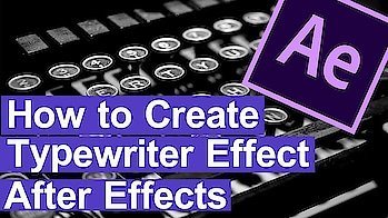 How to Create a Typewriter Effect in Adobe After Effects  🔥Typewriter animation-RS COMPUTERS