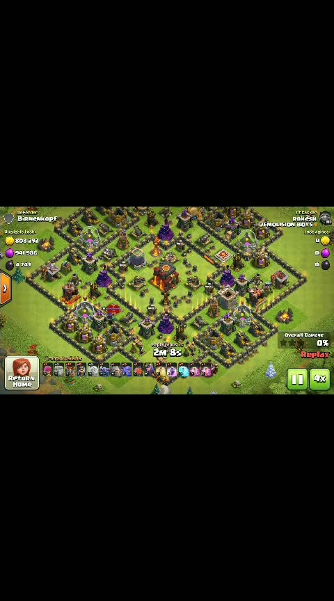 #clash of clans #loot attack