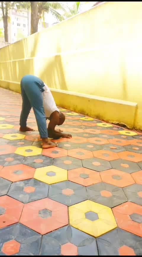 Forearm Friday  . . . . #yoga #yoga4roposo #pincha #pinchamayurasana #scorpionpose #yogaposes #yogaeverywhere