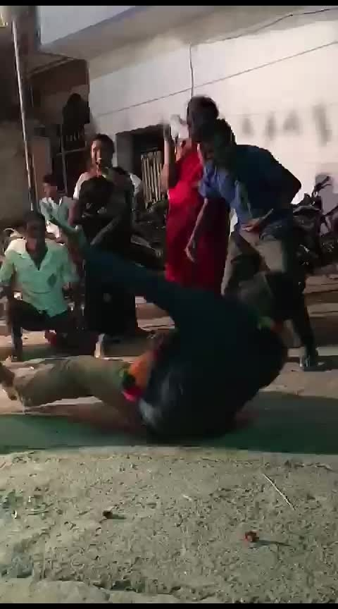 crawling dance from groom