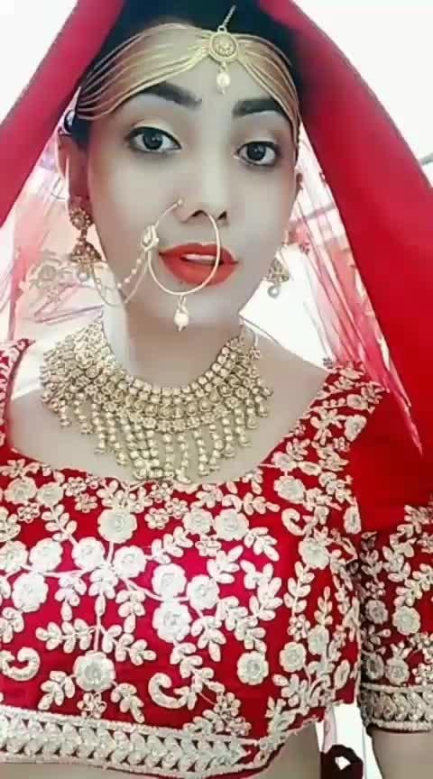 #weeklyhighlights #bridal #roposo-dulhan  Vaaste song
