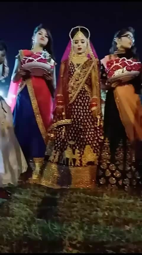 #wedding-bride #bride-lehenga