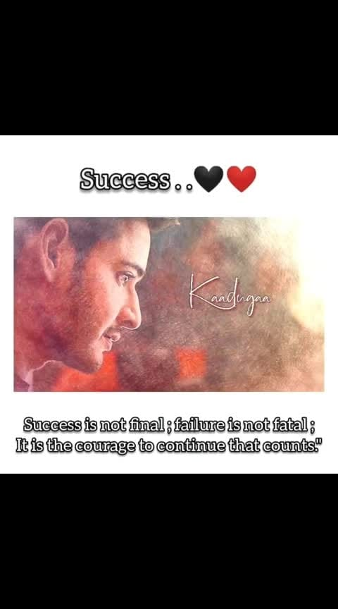 #success #maharshi_song #motivation #roposo-music #maheshbabu 😘😘