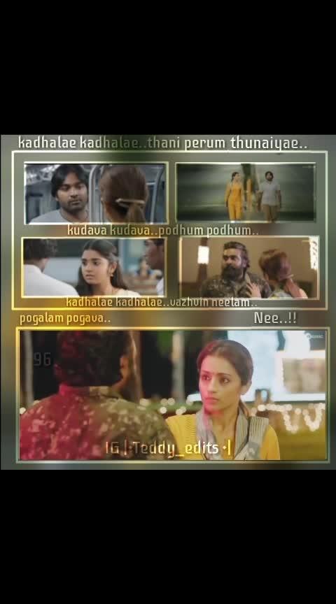 #vjs #vijaysethupathi #96-vijaysethupathi-trisha-whatsapp #96movie #kadhalaekadhalae #teddyedits #teddy #teddy_edits #whatsapp-status #whatsappdpedits #whatsapp_dp_edits