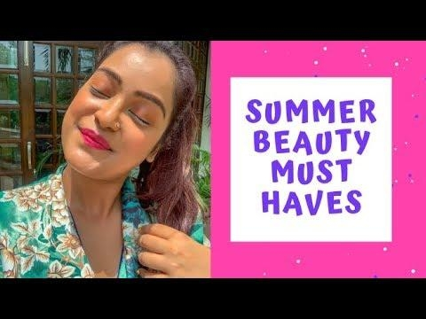 5 Must Have Beauty Essentials For The Summer | Aarushi Jain