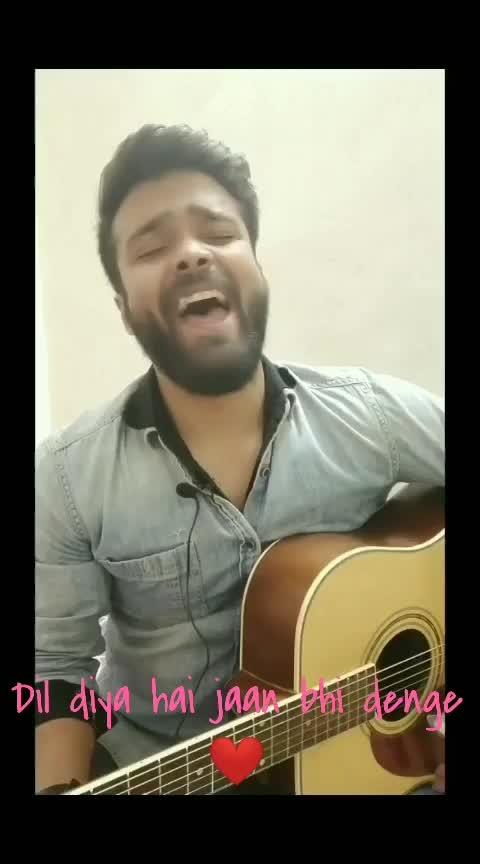 #song 👉Dil dilya hai jaan bhi denge  #indian #ilovemyindia #star #roposostar