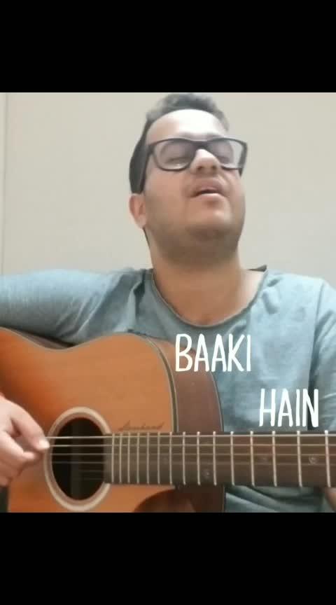 Tum jab paas aati ho! . . . #tumjabpaas #prateekkuhad @prateekkuhad #indianmusic #sing #singer #songwriter #cover #music #musician