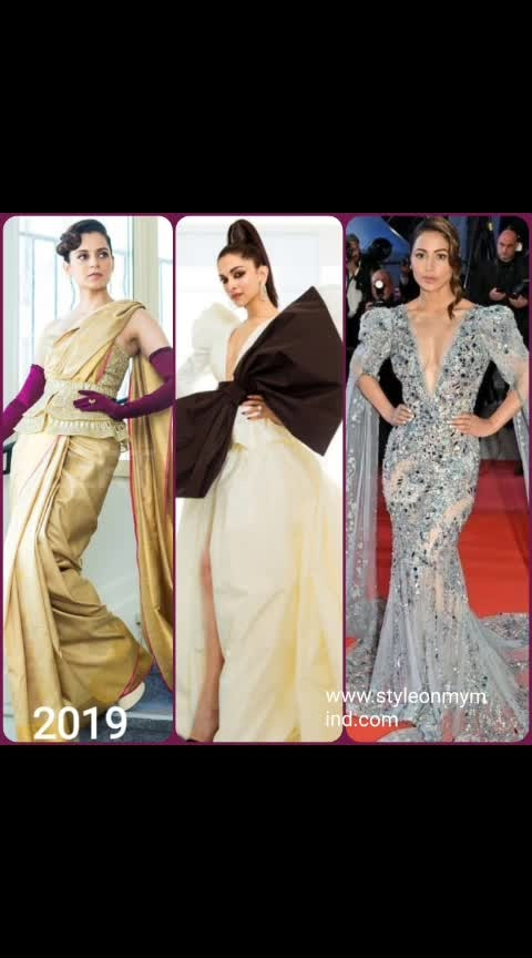 💜 STYLEONMYMIND 💜 Indian presence at #cannes2019.pl visit wwwstyleonmymind.com  . #redcarpet #redcarpetlook #couture #couturefashion #couturedress #evening-gown #gownlove #gownstyle #fashionation #be-fashinable #fashionables #glamourouslooks #glamdiva #glamourworld #style#roposo-styl #stylematters #celebritywear #celebritylook #roposo-trending #be-in-trend #trend-alert #fashionablewomen #roposofashionbloggernetwork #roposofashiontips #roposofashiondiaries# roposofashion#roposostylefiles #roposoglam #kanganaranaut #deepika-padukone #hinakhan
