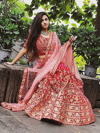 Nothing can match her grace, when she is in her traditional attire, get your traditional look ready at www.rentanattire or visit our outlets in Pune, Delhi and Dehradun #lehenga #lehengastyle #lehengacholi #bridesmaidrobe #bride #bridetobe #bridetobe2020 #bridalmusings #bridalgoals #redlehanga #elegant #beauty #traditional #traditionalclothes #rentals #rentlehenga #rentanattire❤
