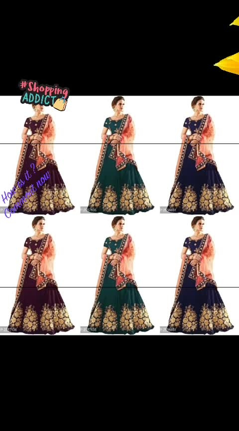 Taffeta Silk Embroidered Lehengas ▶️Website Link - https://bit.ly/30hsbPs◀️  #fashion #style #stylish #love #photography #instapic #me #cute #photooftheday #nails #hair #beauty #beautiful #instagood #instafashion #pretty #girl #girls #eyes #model #dress #skirt #shoes #heels #styles #outfit #purse #jewelry #shopping