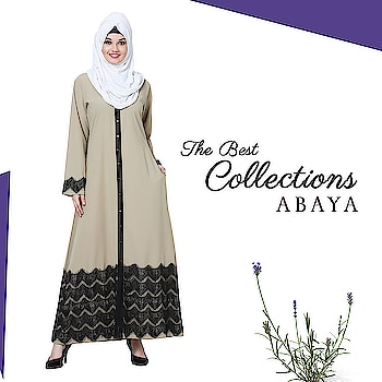 Lend a sophisticated charm to your abaya collection with this dual colored gown style abaya with lace detailing on the hem and sleeves! Shop Now : https://bit.ly/2vAxHyv #abaya #hijab #traditionalclothing #outfits #muslimahchamber #frontopenabaya #muslimwomen #muslimgirl #hijabista #islamicwear #hijabfashion #hijabonline #hijabstyle #hijabootd #abayaindia #abayadress #abayamoden #abayalover #abayashop #abayafashion #embroideredabaya #blackabaya #blackhijab #hijabista #hijaboutfit #hijabmuslim #hijabi #islamicwear #islamicfashion #muslimahwear