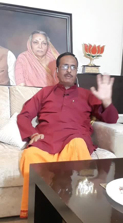गठबंधन पर साधा निशाना  दिनेश शर्मा (उपमुख्यमंत्री, उ0 प्र0 सरकार)
