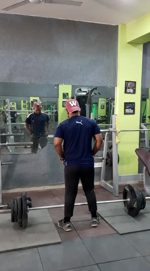 deadlift best exercises for back ♥️ #gymfashion #gymmotivtion #loveforfitness #fitness #rajeshmaurya #foryoupage