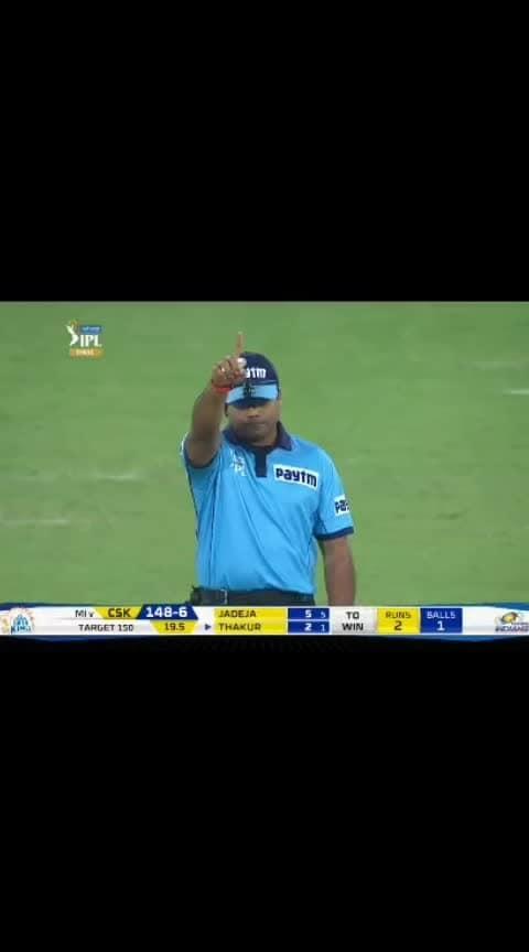 Last Ball Moment Ipl 2019#ipl-2019 #iplfinals2019 #mumbaiindians #malinga #finalover