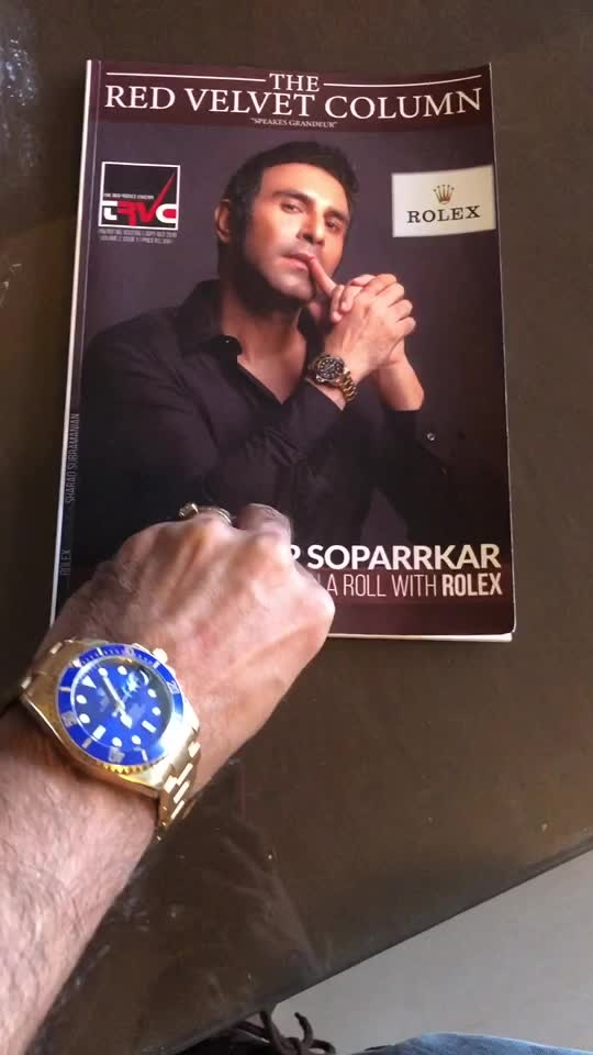 Time to Rol...... ex....  Thank you @rolex for this.. this is indeed veryyy special....   @theredvelvetcolumn Thk u for this announcement   @subsharad Thk u for making me look worth a Rolex.. ##rolex #rolexsubmariner #watch #watches #watchesofinstagram #watchesformen #luxury #luxurylifestyle #bollywood #hollywood #actor #dancer #dancerlife #magazine #magazinecover #covershoot #style #life #danceteacher #ballroomdance #latindance #latindancing #sandipsoparrkar #indiafineartscouncil #danceforacause #indiadanceweek #learntodance #danceinmumbai #danceclasses
