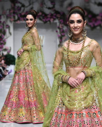 I Love This Lehenga....Hand Embroidered With Real Mirrors