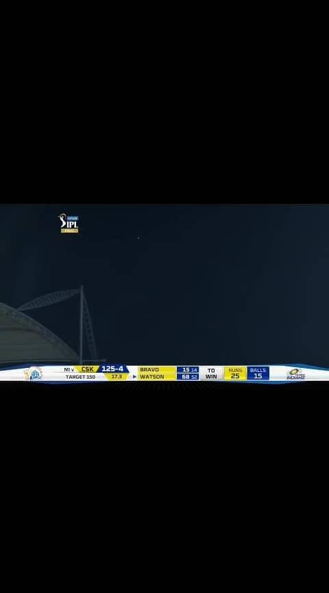 Final: MI vs CSK – Shane Watson Six #csk #shanewatson #ipl