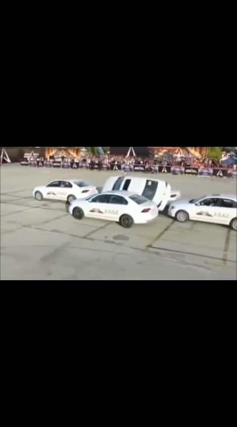 car stunt ..