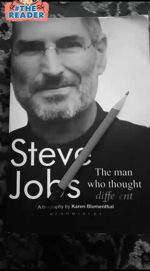 #books #steve jobs #read