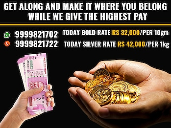 We provide you free valuation of your old Gold without damaging or melting your items, and we also provide you free doorstep service which means you don't have to take your valuable out in risk. So all these things make us the best Gold Buyers in Delhi.  https://www.cashfordiamond.co.in/gold-jewellery-buyers.php