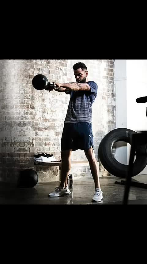 #viratkohli #puma #wrogn #gym #work-out