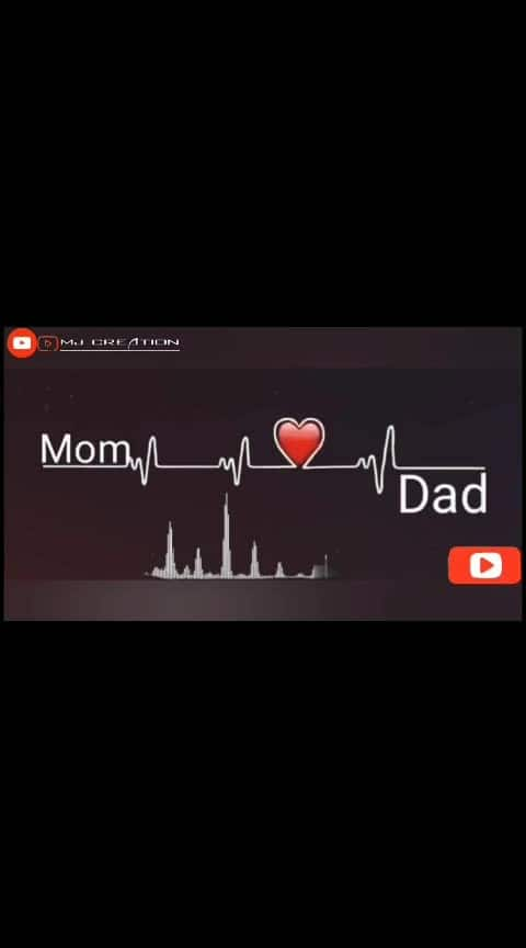 love u maa and dad... forever and ever#momanddad #lovedad #lovemom  #roposo #momlovesyou #i-love-u-mom #dadlife #best-dad