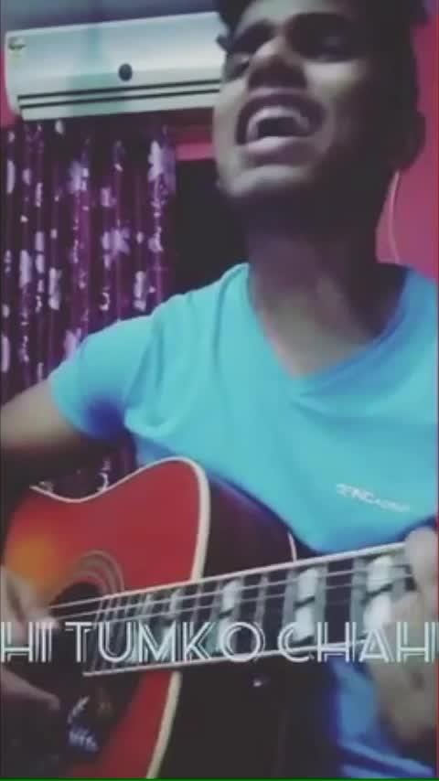 Me fir bhi tumko chahunga #arijitsingh #risingstars #roposo_beats #followme #firbhitumkochahunga