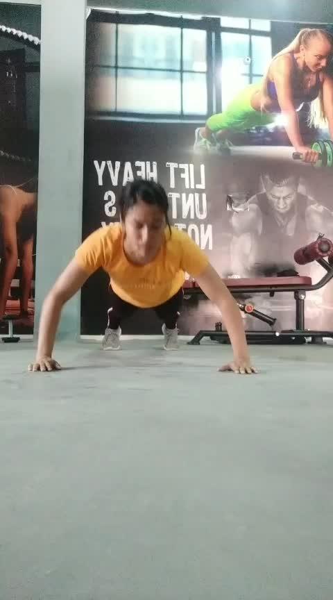 #fitness #fit #gym #roposorisingstar