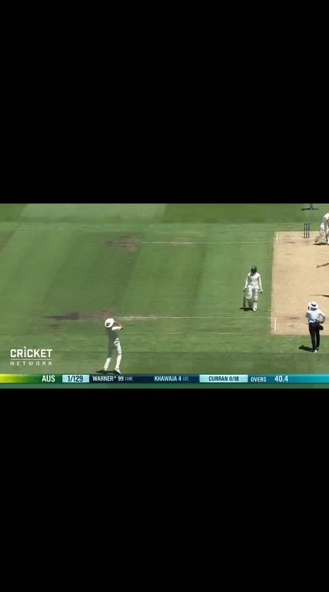 #Warner out at 99.. but... come back